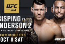 UFC 204 is een feit
