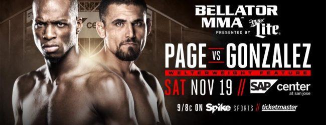 Michael Page vs. Fernando Gonzalez officieel voor Bellator MMA 163