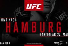 UFC Hamburg card lijkt compleet