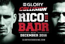 Glory Collision: Rico vs Badr aangekondigd voor Oberhausen