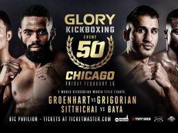 Uitslagen : GLORY 50 : Chicago