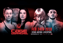 Uitslagen : Cage Warriors 90 : McCann vs. Tyrell