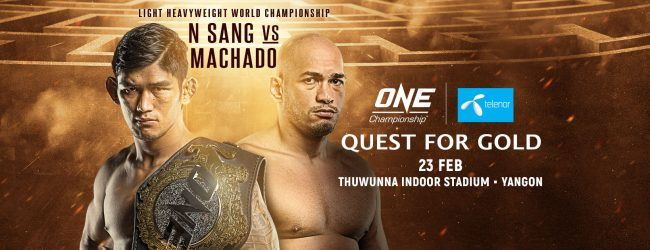 Uitslagen : ONE Championship 67 : Quest for Gold