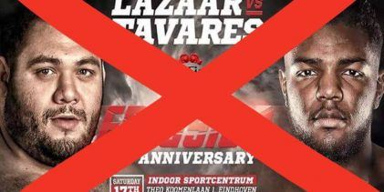 Ismael Lazaar test positief: Partij tegen Luis Tavares gaat niet door