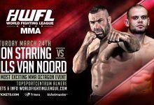 Dion Staring vs. Nills van Noord eerste bekende partij voor WFL MMA 2
