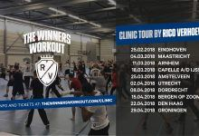 Rico Verhoeven trapt dit weekend af met The Winners Workout Clinics
