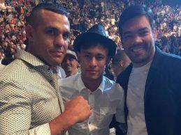Lyoto Machida en Vitor Belfort vechten afscheidspartij tijdens UFC 224 in Rio de Janeiro