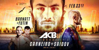 Uitslagen : ACB 81 : Dubai