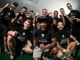 UFC actie voor Tatsujin Dojo vechter Marcin Prachnio