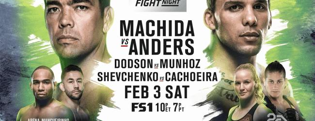 Uitslagen : UFN 125 Belem : Machida vs. Anders