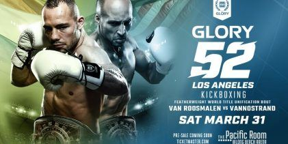Middleweight Tournament met Belgaroui en Wilnis tijdens GLORY 52