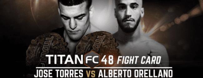 Uitslagen : Titan FC 48 : Torres vs. Orellano
