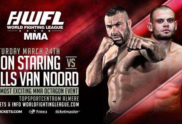 LIVE Uitslagen : WFL MMA 2 : Staring vs. Van Noord