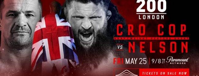 Line-up Bellator MMA 200 breidt uit met Cro Cop vs. Roy Nelson