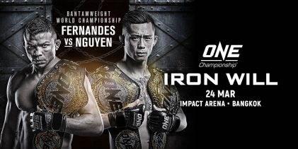 Uitslagen : ONE Championship 69 : Iron Will
