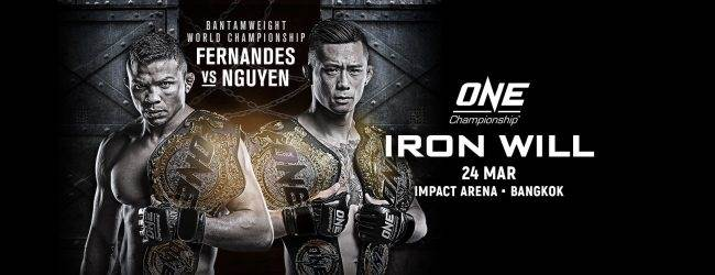 Uitslagen : ONE Championship 69 : Iron Will