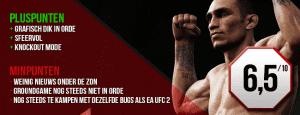 Eind cijfer EA UFC 3