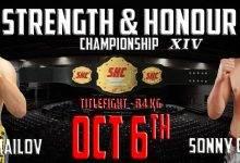 Rasul Ismailov & Sonny Gallmann vechten voor de vacante SHC Middleweight titel