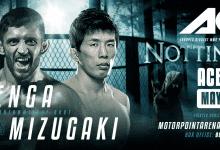 Pietro Menga vs. Takeya Mizugaki toegevoegd aan ACB 87 in Nottingham