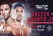 Belangrijk Middleweight gevecht tussen John Salter en Rafael Lovato Jr. tijdens Bellator 198
