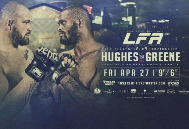 Heavyweight titel op het spel tijdens LFA 38 in Minneapolis, Minnesota