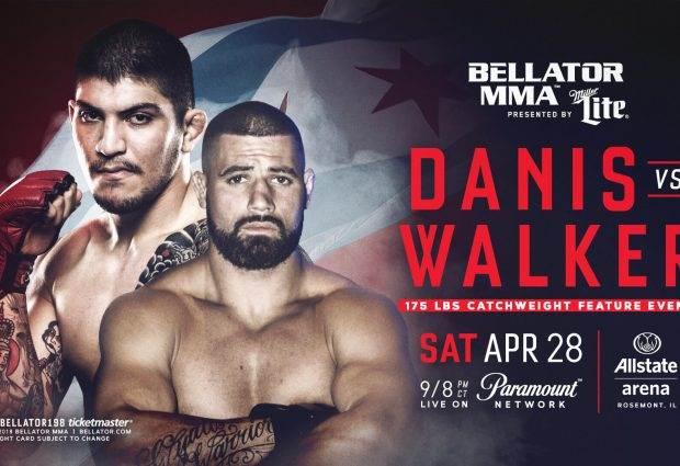 Dillon Danis maakt professioneel MMA debuut tijdens Bellator 198