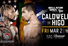 Uitslagen : Bellator 195 : Caldwell vs. Higo