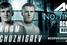 Co-Main Event tussen Scott Askham en Ibragim Chuzhigaev tijdens ACB 87