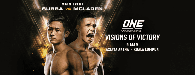 Uitslagen : ONE Championship 68 : Visions of Victory