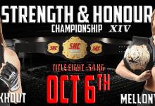 Griet Eeckhout & Mellony Geugjes strijden om de SHC Women's Flyweight titel