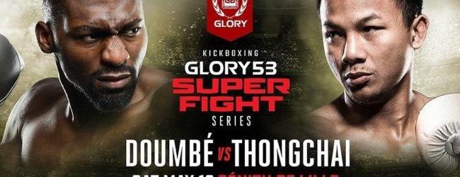 Eyevan Danenberg geblesseerd; Doumbe nu tegen Thongchai in Lille