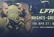 Uitslagen : LFA 38 : Hughes vs. Greene