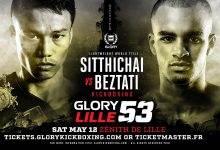 Tyjani Beztati vecht voor titel tegen Sitthichai in Lille