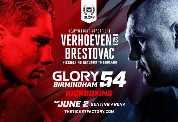 Partij tussen Verhoeven en Brestovac omgezet naar titelgevecht