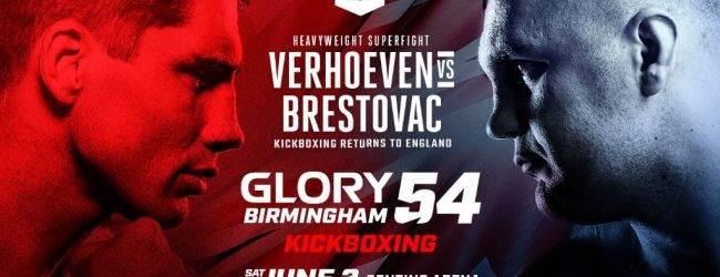 Rico Verhoeven verzorgt main event tegen Mladen Brestovac in Birmingham