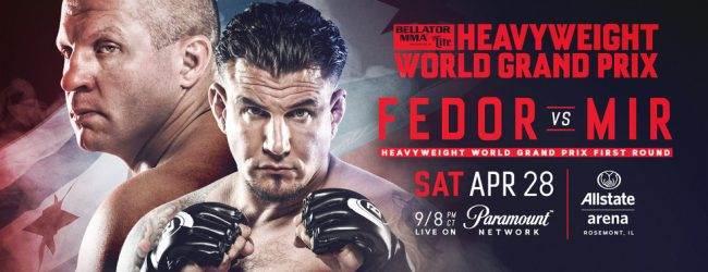 Uitslagen : Bellator 198 : Fedor vs. Mir