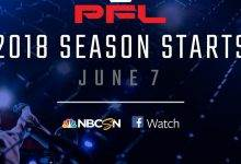 PFL maakt compleet schema + roster voor 2018 bekend