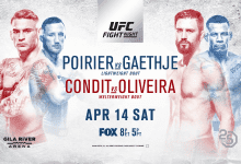 Uitslagen : UFC on FOX 29 Glendale : Poirier vs. Gaethje