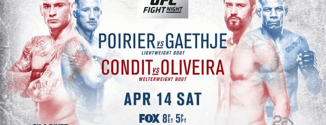 Uitslagen : UFC on FOX 29 Glendale : Poirier vs. Gaethje