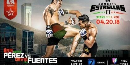 Uitslagen : Combate Americas : Combate Estrellas 2