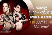 Julia Budd verdedigt titel tegen Talita Nogueira tijdens Bellator 202