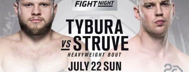 Stefan Struve keert terug tegen Marcin Tybura tijdens UFC Hamburg