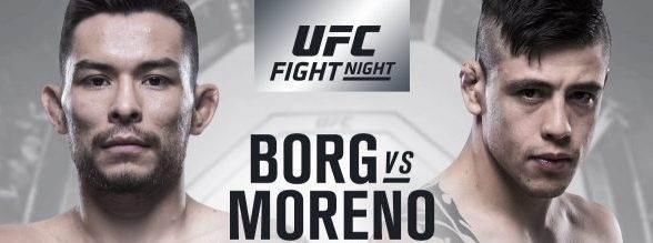 Ray Borg vs. Brandon Moreno opnieuw geannuleerd