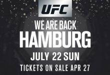 Damian Stasiak treft nieuwkomer Pingyuan Liu tijdens UFC Hamburg
