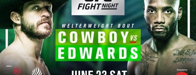 Nieuwe toevoegingen voor de UFC Singapore card in Juni