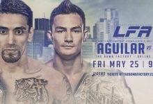 Uitslagen : LFA 40 : Aguilar vs. Le