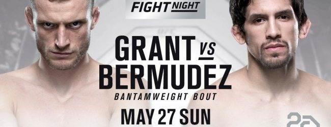 UFC Liverpool verliest gevecht tussen Davey Grant & Manny Bermudez