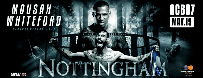 Uitslagen : ACB 87 : Nottingham