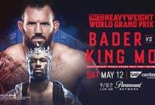 Uitslagen : Bellator 199 : Bader vs. King Mo