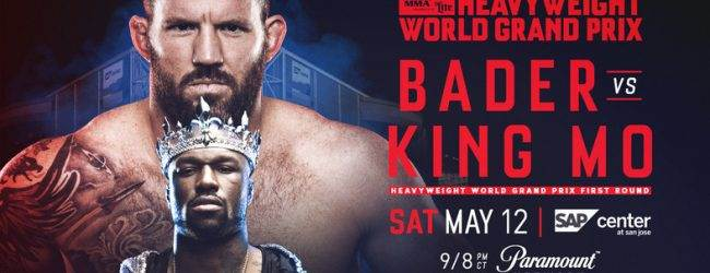 Uitslagen : Bellator 199 : Bader vs. King Mo